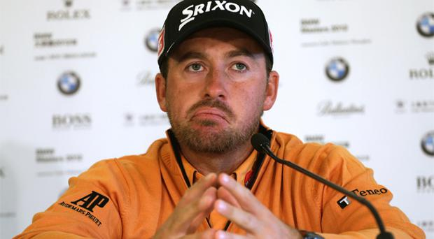 Graeme McDowell: wants Olympic Committee to decide for him. Photo: Getty Images