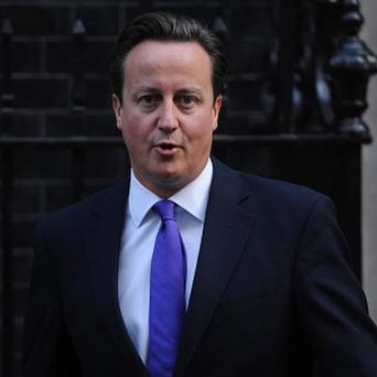 No 10 reiterated David Cameron's view that military action against Iran is not appropriate 'at this time'