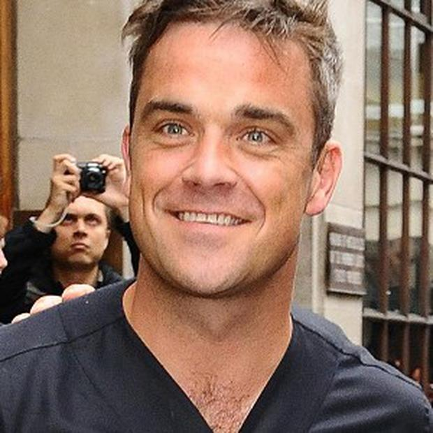 Robbie Williams will be switching on the festive lights for London's Oxford Street next month
