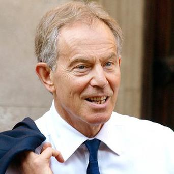 Tony Blair warned that it was not in Britain's interest to play 'short-term politics' with the issue of Europe