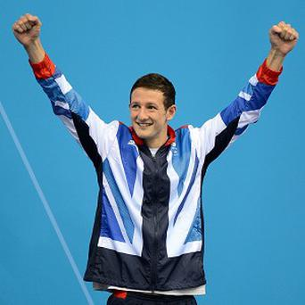 Michael Jamieson won a sliver medal at the Olympic Games in London