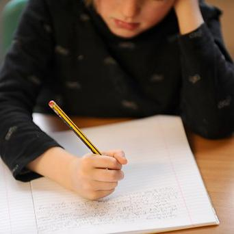 Pupils in the UK are more likely to be able to spell complex words than they are basic words, research indicates