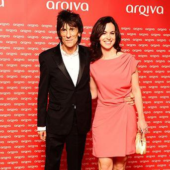 Ronnie Wood and Sally Humphreys have announced they are to be married