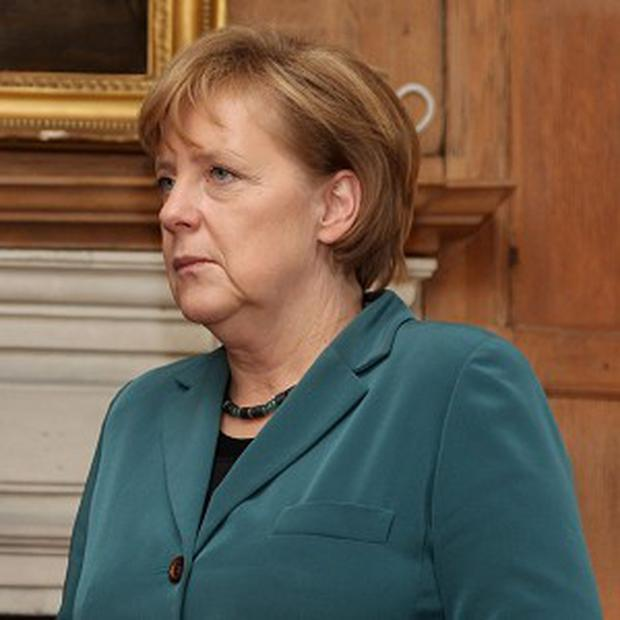 Enda Kenny will hold talks with German chancellor Angela Merkel
