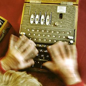 A rare Enigma machine is expected to fetch up to 80,000 pounds at auction