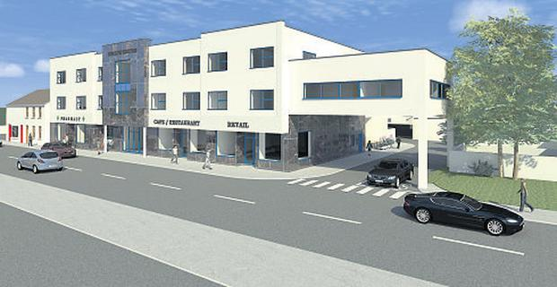 An artist's impression of the proposed primary care centre