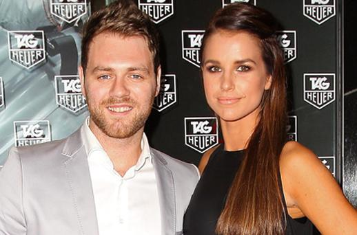 Brian McFadden and Vogue Williams. Photo: Getty Images
