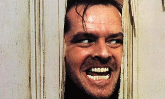 Here's Johnny: Jack Nicholson as Jack Torrance in The Shining
