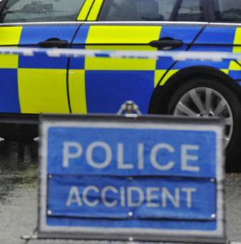 The accident, involving one vehicle, happened on the Armagh Road, Portadown