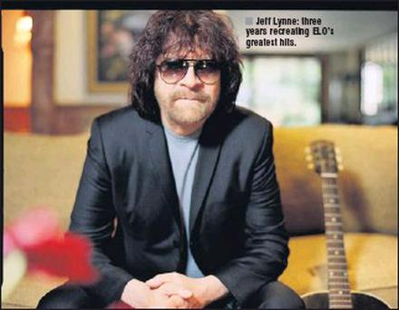 Jeff Lynne: three years recreating ELO's greatest hits.