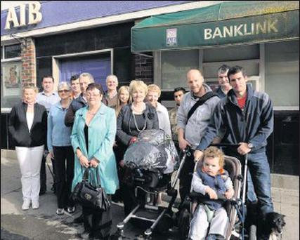 A campaign opposing the closure of the AIB Bank in Rush is gathering momentum.