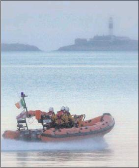 Reports show that RNLI volunteers have shown incredible bravery.