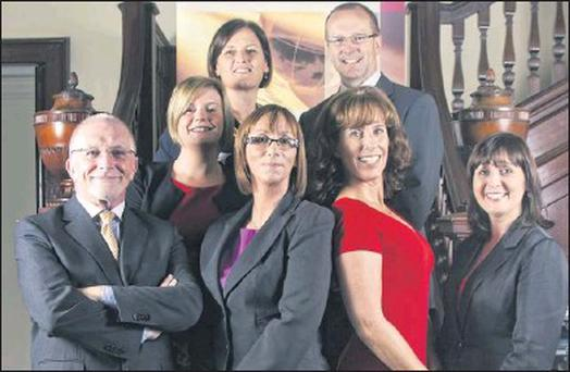 The Wealth Alliance team, at the Launch of Wealth Alliance in the RDS Members Club Dublin.