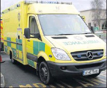 Cuts have been made to the Swords ambulance service.