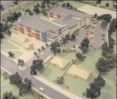 An artist's impression of the development at St Oliver Plunketts NS.