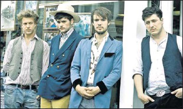 Mumford and Sons, one of the headline acts lined up for Arthur's Day on Thursday.