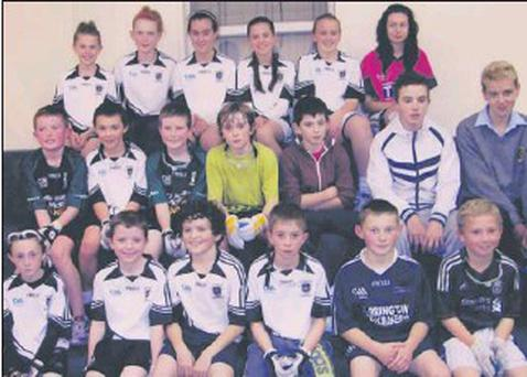Young players from St. Joseph's in Wexford town who are competing in the world championships.