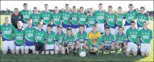 The Glynn-Barntown panel before their final victory over Fethard in Taghmon.