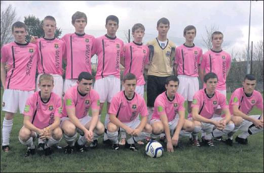 The Wexford Youths squad who got off to a winning start on Sunday last.