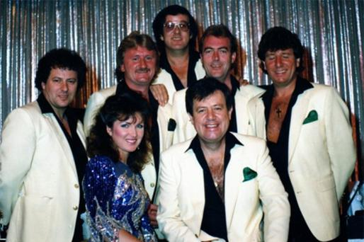 Mickey O'Neill back row, second from left with Brendan Bowyer and the Big Eight