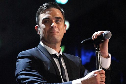 Robbie Williams has said he is 'the happiest man alive' after getting married. Photo: PA