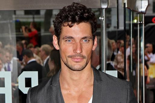 David Gandy is to add acting to his repertoire but will not move away from modelling as a career. Photo: Getty Images