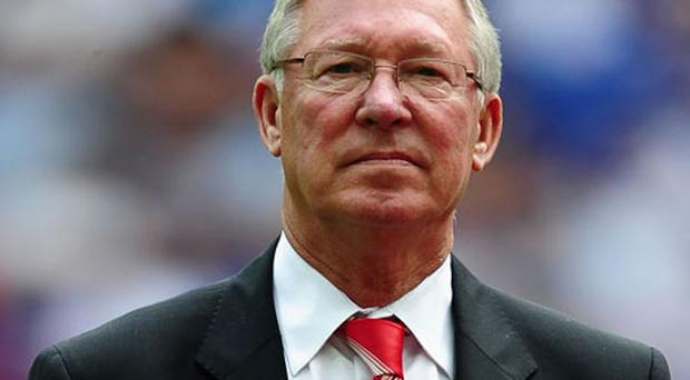 Alex Ferguson - 'That's an indication of the improvement made by other teams, and I think there'll be a bit of a dogfight for the top four places this season.' Photo: Getty Images