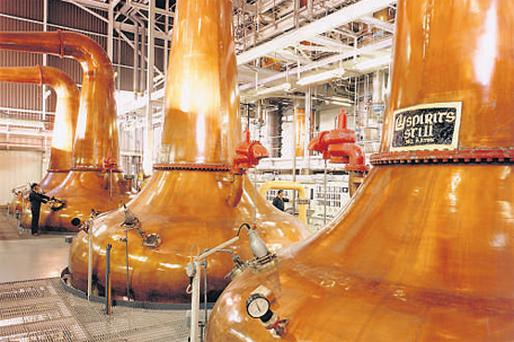 Pernod Ricard owns Irish Distillers, maker of Jameson Whiskey