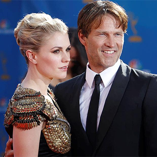 Actors Anna Paquin and Stephen Moyer from the drama series 'True Blood'. Photo: Reuters