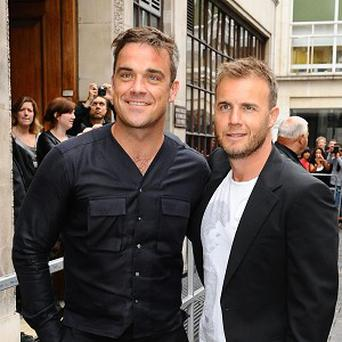 Robbie Williams and Gary Barlow will play at the Help For Heroes concert