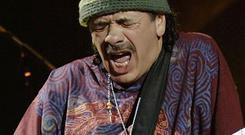 Carlos Santana proposed to his girlfriend on stage