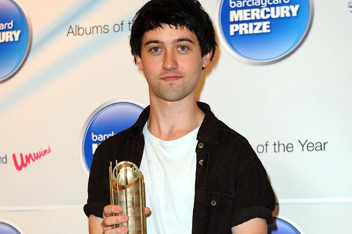 Mercury Prize Album of the Year nominee, Villagers, (aka Conor J. O'Brien), for his album 'Becoming A Jackal' ahead of the awards which will take place tomorrow night. Photo: PA