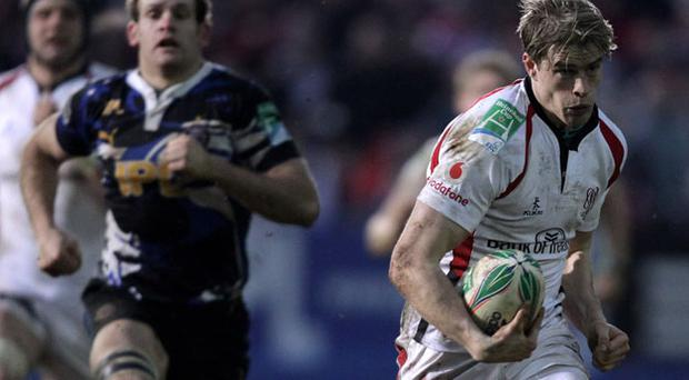 Andrew Trimble helped Ulster to a Heineken Cup double over Bath last year. Photo: Getty Images