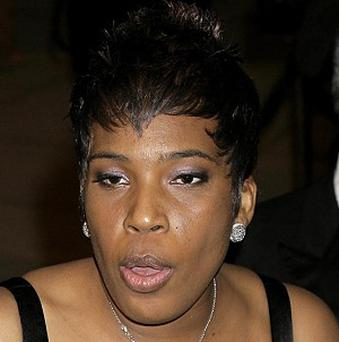 Macy Gray said she might forgive Ashton Kutcher for playing a prank on her