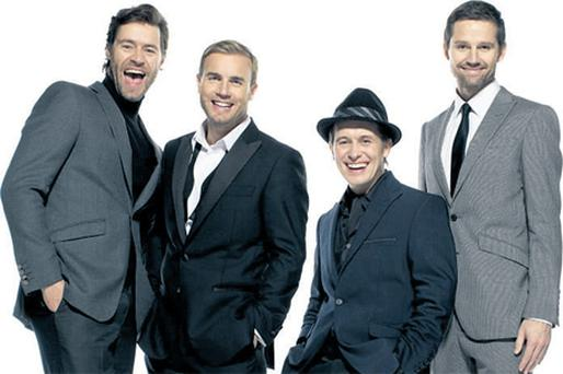 Could it be magic? Take That are to reunite with Robbie Williams