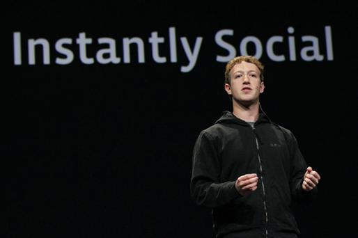 Mark Zuckerberg, chief executive officer and founder of Facebook. Photo: Getty Images