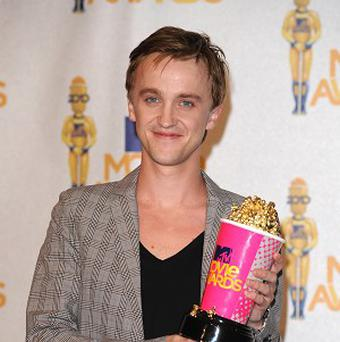 Tom Felton is swapping the film lot for the recording studio