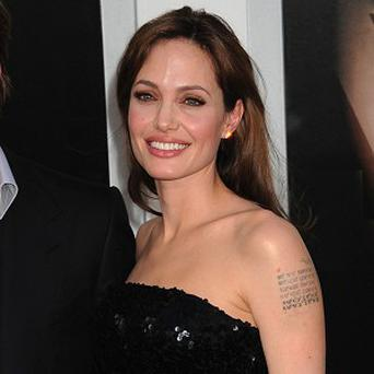 Angelina Jolie had an accident on the set of Salt