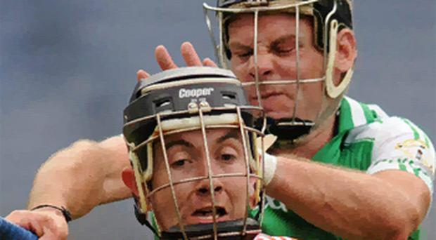 Humphrey Kelleher has called for grabbing an opponent's helmet to be made a red card offence. Photo: Sportsfile