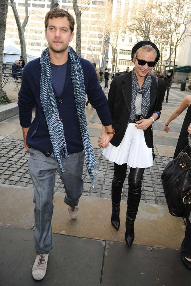 Out and about with boyfriend Joshua Jackson in New York. Photo:Getty Images