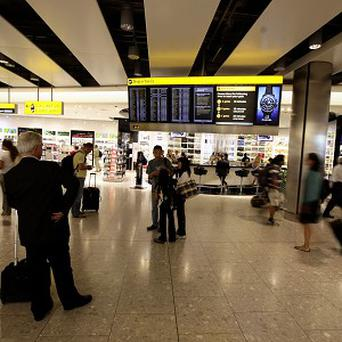A toy gun belonging to a young member of a Middle Eastern royal family sparked a security alert at Heathrow airport
