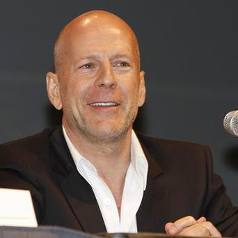 Bruce Willis made a surprise appearance at Comic-Con