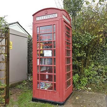 Residents in a tiny village have opened a grocery store in a disused phone box