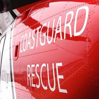 Coastguard team saved a man who fell down a cliff after his friend called 999