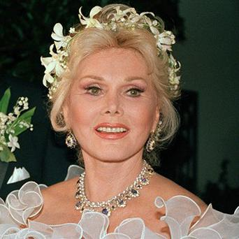 Zsa Zsa Gabor is critically ill in hospital after surgery to replace her right hip
