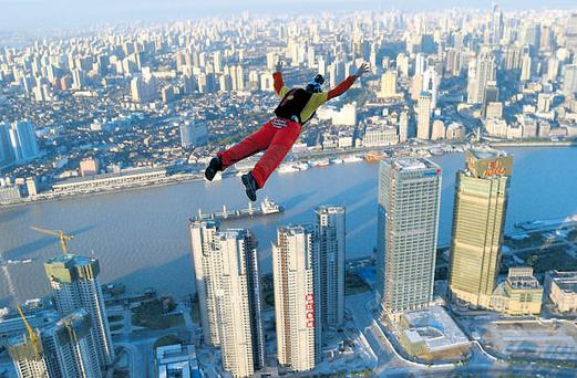 Base jumping is also a high-risk activity that will not be covered by insurers.
