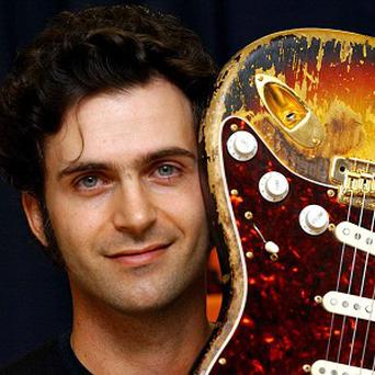 Dweezil Zappa, son of the late rock star Frank Zappa