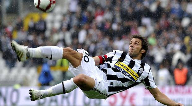 Alessandro del Piero remains an icon at Juventus and is likely to lead from front on Thursday in Tallaght. Photo: Getty Images