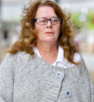 Vera McGrath seen outside court earlier this week. Picture: Courtpix