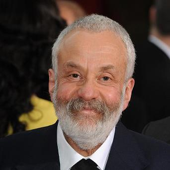 Mike Leigh has joined arts organisations in condemning